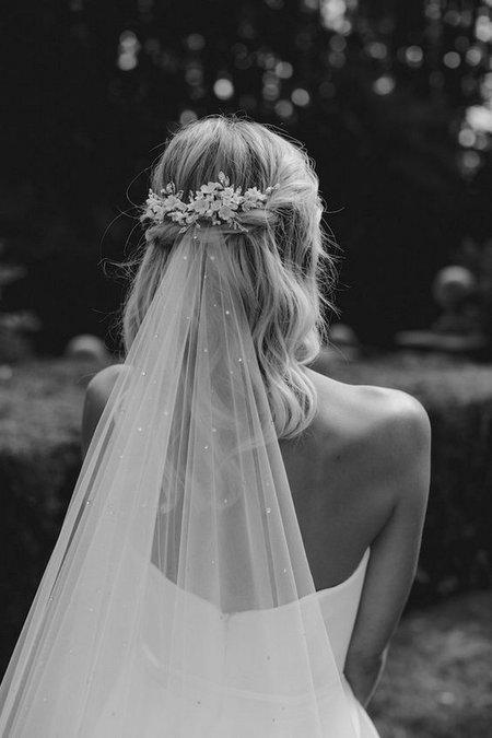 Vjenčane frizure za mladenke s velom