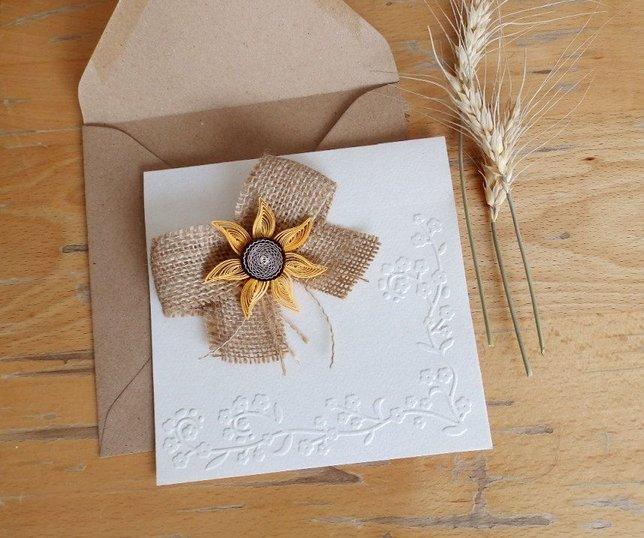Suncokret - detalj ljetnih vjenčanja!