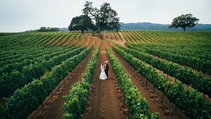 Fotografiranje vjenčanja dronom - dobra ideja!
