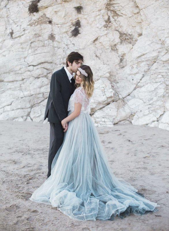Plava boja na vjenčanju - da ili ne?