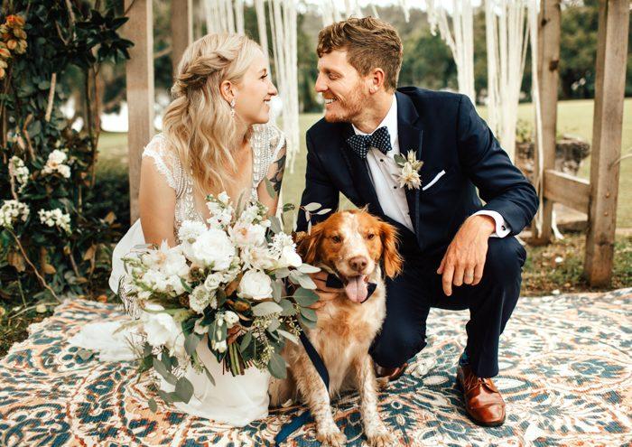 Jesensko vjenčanje u boho stilu
