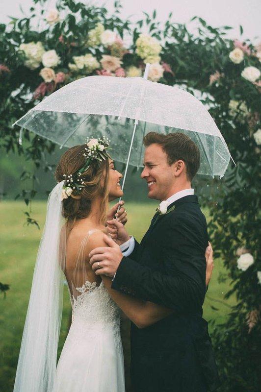Vjenčanje na kiši - moguće je!