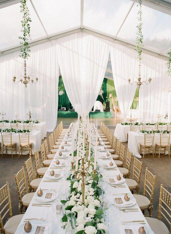 Najam za šatora za vjenčanje - da ili ne?