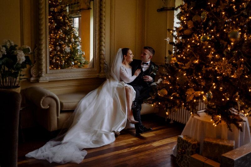 Inspiracija za fotografije zimskog vjenčanja