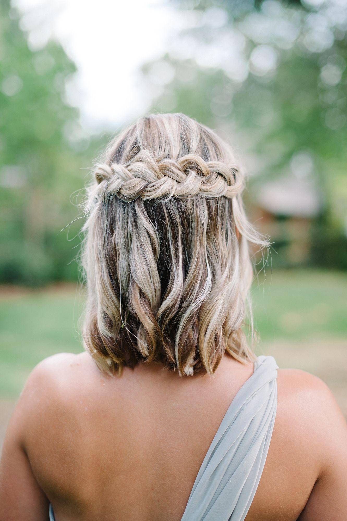 Frizure za vjenčanje s pletenicama