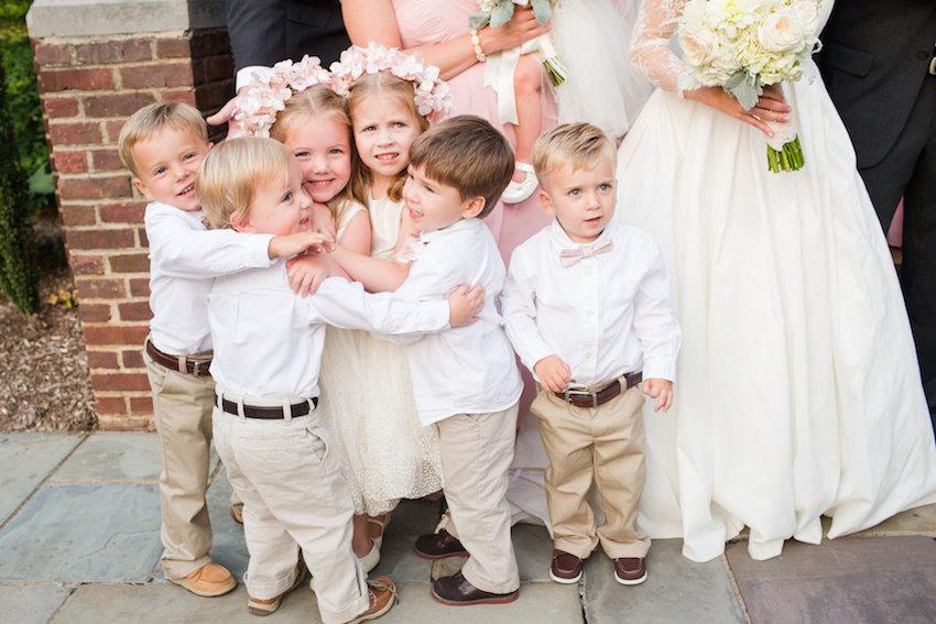 Ideje za dječji stol na vjenčanju